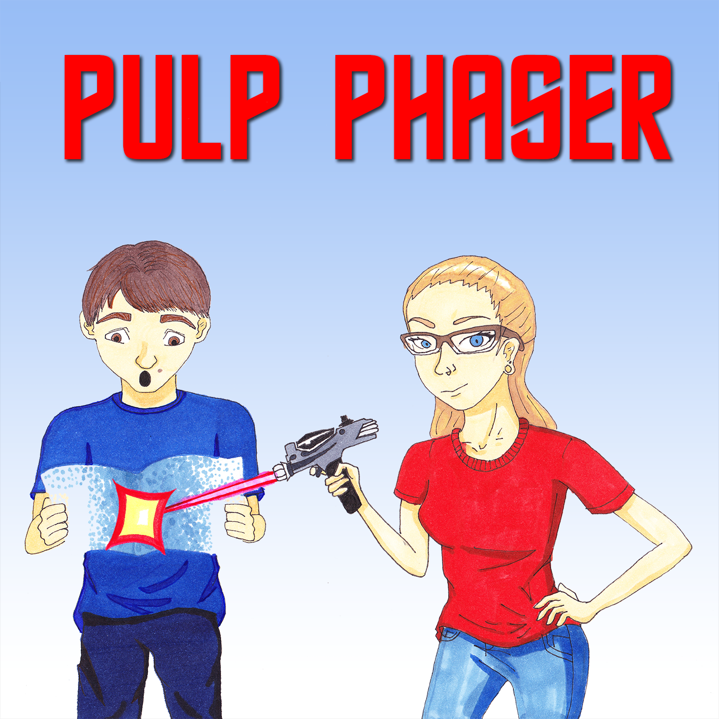 Pulp Phaser - A Star Trek Comics Podcast